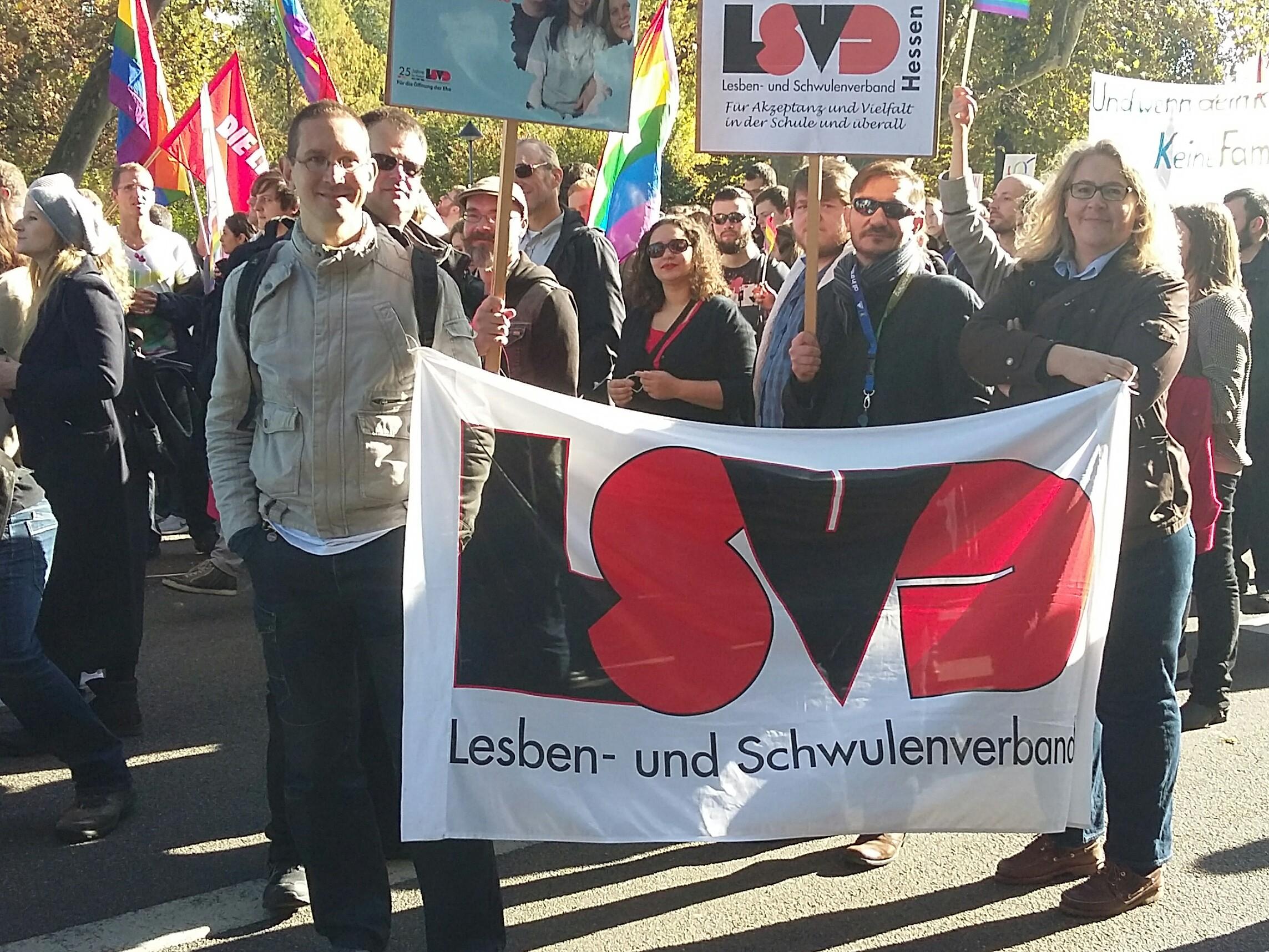 """LSVD aktiv beim """"Bündnis für Akzeptanz und Vielfalt – gegen Diskriminierung und Ausgrenzung"""" in Wiesbaden"""